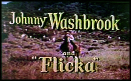 Johnny Washbrook and Flicka